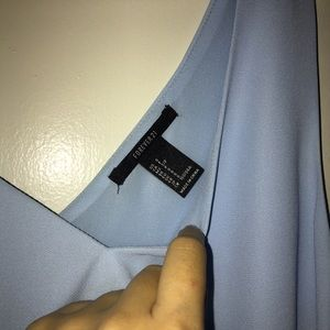 Forever 21 Tops - XXI | baby blue satin cami